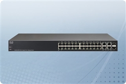 Cisco SG300-28PP 28-port Gigabit PoE+ Managed Switch from Aventis Systems, Inc.