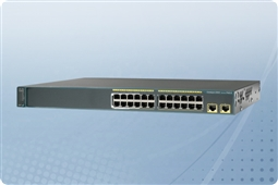 Cisco Catalyst WS-C2960X-24TS-L Managed Switch 24 Ports from Aventis Systems, Inc.