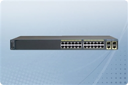 Cisco Catalyst WS-C2960X-24PSQ-L Managed Switch 24 Ports from Aventis Systems, Inc.
