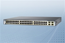 Cisco Catalyst WS-C3750V2-48TS-S 48 Port Layer 3 Managed Switch