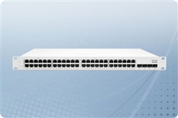 Cisco Meraki MS225-48LP-HW Cloud Managed Layer 2 48 Port Gigabit (GbE) 370W PoE Switch