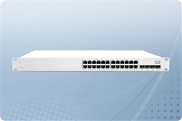Cisco Meraki MS350-24P-HW Cloud Managed Layer 3 24 Port Gigabit (GbE) 370W PoE Switch