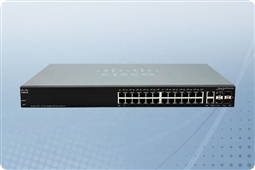Cisco Small Business Series SG350X-24P-K9 24 Port PoE+ Gigabit Ethernet Managed Switch from Aventis Systems