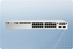 Cisco Catalyst C9300-24T-A 24 Port Layer 3 Gigabit Ethernet Managed Switch from Aventis Systems with Network Advantage