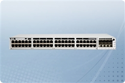 Cisco Catalyst C9300-48P-A 48 Port PoE+ Layer 3 Gigabit Ethernet Managed Switch from Aventis Systems with Network Advantage