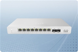 Cisco Meraki MS120-8LP-HW Cloud Managed Layer 2 8 Port Gigabit 67W PoE Switch Bundled with 1 Year Enterprise License from Aventis Systems