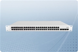 Cisco Meraki MS210-48LP-HW Cloud Managed Layer 2 48 Port Gigabit 370W PoE Switch Bundled with 1 Year Enterprise License from Aventis Systems