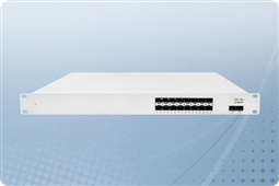 Cisco Meraki MS410-16-HW Cloud Managed Layer 3 16 Port Gigabit Switch Bundled with 1 Year Enterprise License from Aventis Systems
