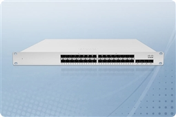 Cisco Meraki MS410-32-HW Cloud Managed Layer 3 32 Port Gigabit Switch Bundled with 1 Year Enterprise License from Aventis Systems