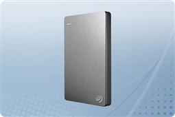 1TB Seagate Backup Plus Silver Slim Portable External HDD from Aventis Systems, Inc.
