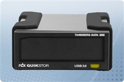Overland Tandberg Data 8864-RDX RDX QuikStor External HDD Drive 1TB with USB3+ from Aventis Systems
