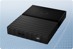WD My Passport Black 2TB Portable External Storage Drive from Aventis Systems
