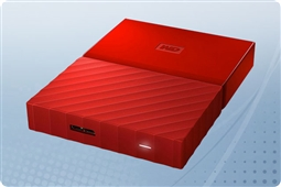 WD My Passport Red 2TB Portable External Storage Drive from Aventis Systems
