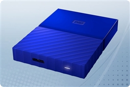 WD My Passport Blue 4TB Portable External Storage Drive from Aventis Systems