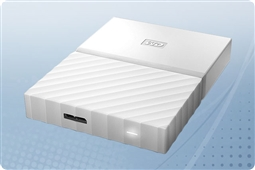 WD My Passport White 4TB Portable External Storage Drive from Aventis Systems