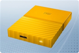 WD My Passport Yellow 4TB Portable External Storage Drive from Aventis Systems