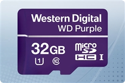 WD Purple 32GB MicroSD Flash Memory Card from Aventis Systems