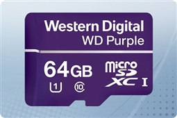 WD Purple 64GB MicroSD Flash Memory Card from Aventis Systems
