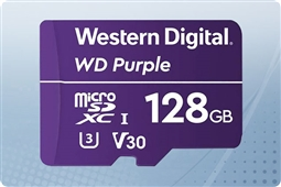 WD Purple 128GB MicroSD Flash Memory Card from Aventis Systems