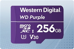 WD Purple 256GB MicroSD Flash Memory Card from Aventis Systems