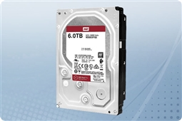 "WD Red Pro NAS 6TB 7.2K 6Gb/s SATA 256MB Cache 3.5"" Hard Drive from Aventis Systems"