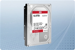 "WD Red Pro NAS 6TB 7.2K 6Gb/s SATA 128MB Cache 3.5"" Hard Drive from Aventis Systems"