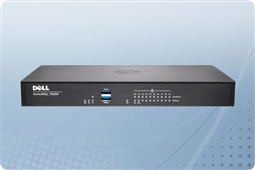 Dell SonicWall TZ 600 10 Port Security Appliance with 1 Year TotalSecure