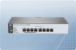 HP 1820 J9982A 8 Port Managed PoE+ 1GbE Switch