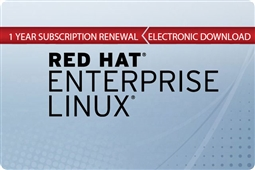 Red Hat Enterprise Linux for Virtual Datacenters Premium Subscription 1 Year (Renewal) Aventis Systems