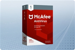 McAfee AntiVirus 2018, 1 PC License from Aventis Systems, Inc.