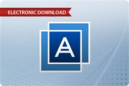 Acronis 12.5 Backup Standard Virtual Host - 1 Year (Renewal License) From Aventis Systems