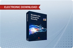 BitDefender GravityZone Security for Virtualized Environments Virtual Server 1 Year Subscription License: Part Number BL1225100A-EN