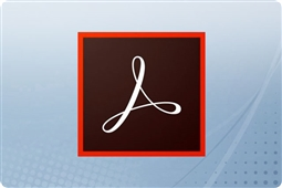 Adobe Creative Cloud Acrobat Pro DC for Enterprise 12 Month Subscription License from Aventis Systems