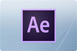 Adobe Creative Cloud After Effects for Enterprise 12 Month Renewal License from Aventis Systems