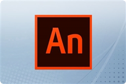 Adobe Creative Cloud Animate and Flash Professional for Enterprise 12 Month Subscription License from Aventis Systems