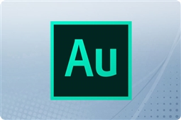 Adobe Creative Cloud Audition for Enterprise 12 Month Renewal License from Aventis Systems