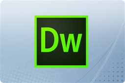 Adobe Creative Cloud Dreamweaver for Enterprise 12 Month Renewal License from Aventis Systems