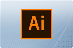Adobe Creative Cloud Illustrator for Enterprise 12 Month Renewal License from Aventis Systems