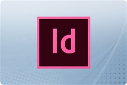 Adobe Creative Cloud InDesign for Teams 12 Month Subscription License from Aventis Systems