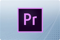 Adobe Creative Cloud Premiere Pro for Teams 12 Month Subscription License from Aventis Systems
