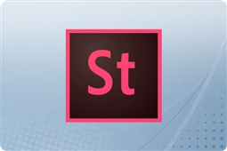 Adobe Creative Cloud Stock for Teams (10 Asset) 12 Month Renewal License from Aventis Systems