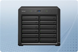 "Synology DiskStation DX1215 12-Bay 3.5"" Expansion Unit for FS, XS, and Plus Series from Aventis Systems"