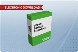 Veeam Backup Essentials Standard 2 Socket Bundle for VMware from Aventis Systems, Inc.