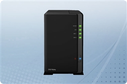 "Synology DiskStation DS218j 2-Bay 2.5"" NAS from Aventis Systems"