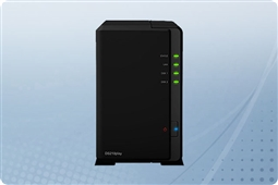 "Synology DiskStation DS218play 2-Bay 2.5"" NAS from Aventis Systems"
