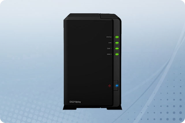 Synology DiskStation DS218play 2-Bay 3 5