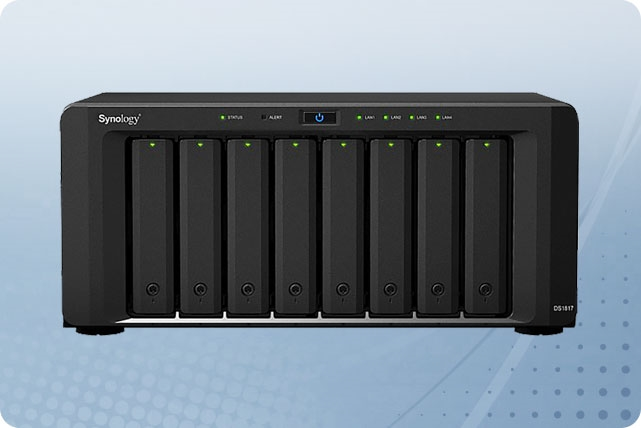 DiskStation DS1817 8-Bay 3 5 | Synology NAS | Aventis Systems