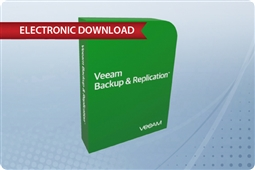 Veeam Backup & Replication Enterprise Plus 10 Agent Instance License 1 Year Subscription Upfront Billing & Production (24/7) Support from Aventis Systems