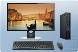 Dell Optiplex 3060 Micro PC Bundle Special from Aventis Systems