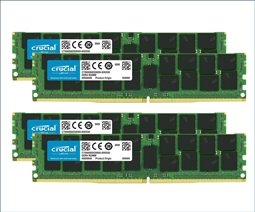 Crucial Memory Bundle with 128GB (4 x 32GB) DDR4 PC4-21300 2666MHz from Aventis Systems